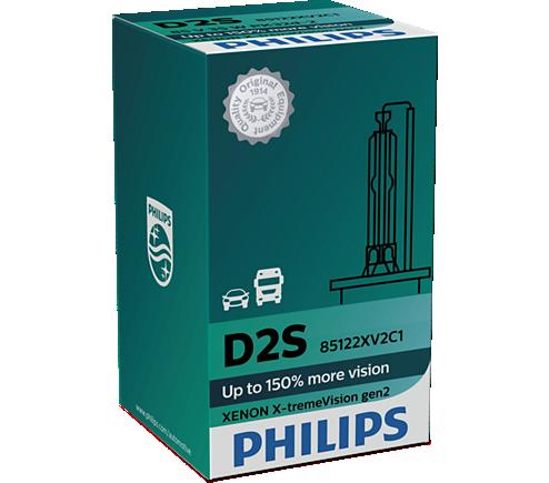 D2S Xenon X-tremeVision +150% gen2 Philips