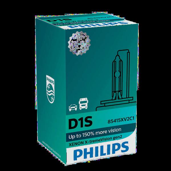 2stk. D1S Xenon X-tremeVision +150% gen2 Philips